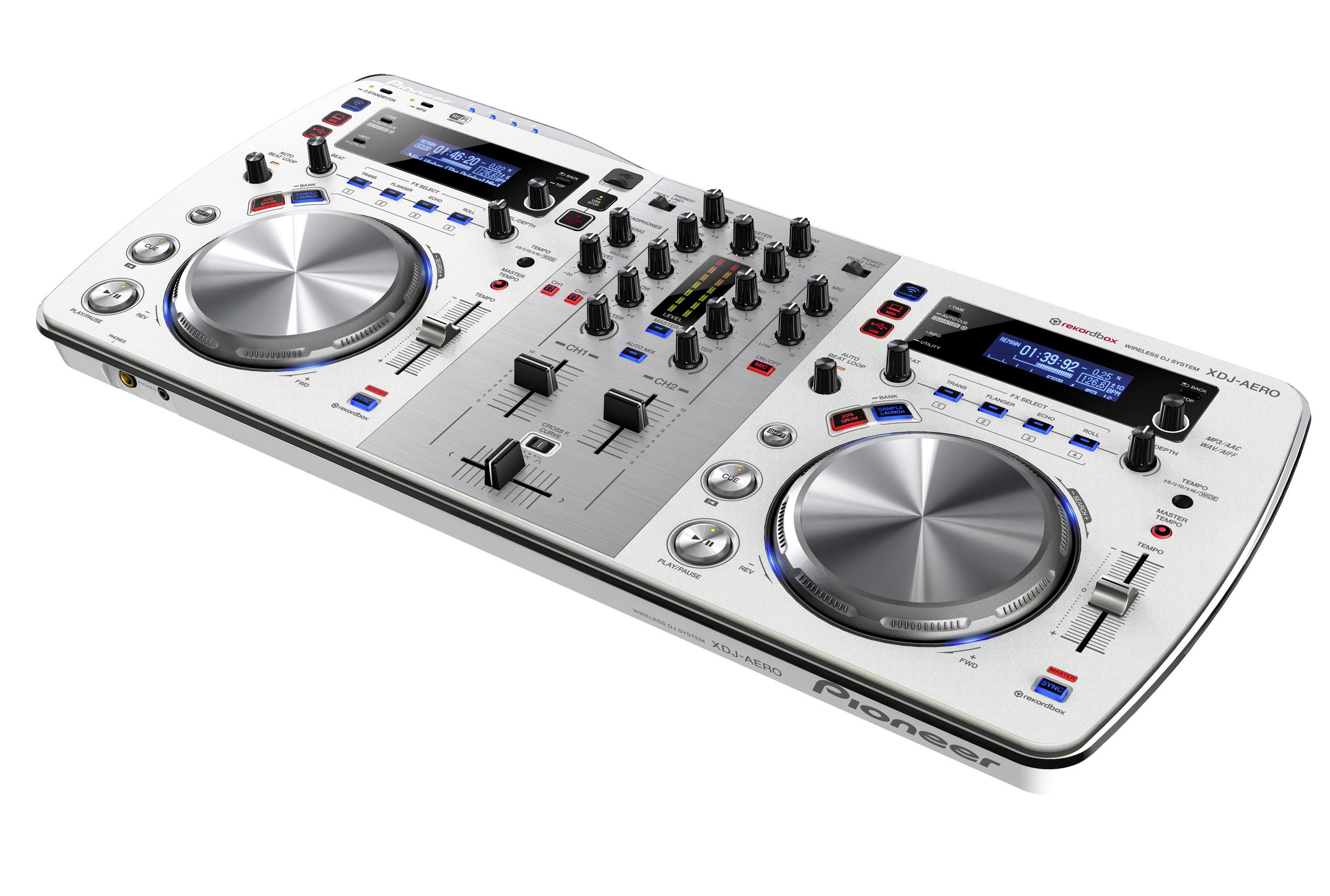 Article d p che la xdj aero de pioneer - Logiciel table de mixage dj gratuit francais ...